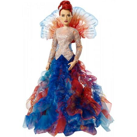 Aquaman Movie Mera Doll In Royal Gown, 12-Inch Scale (Doll Movi)