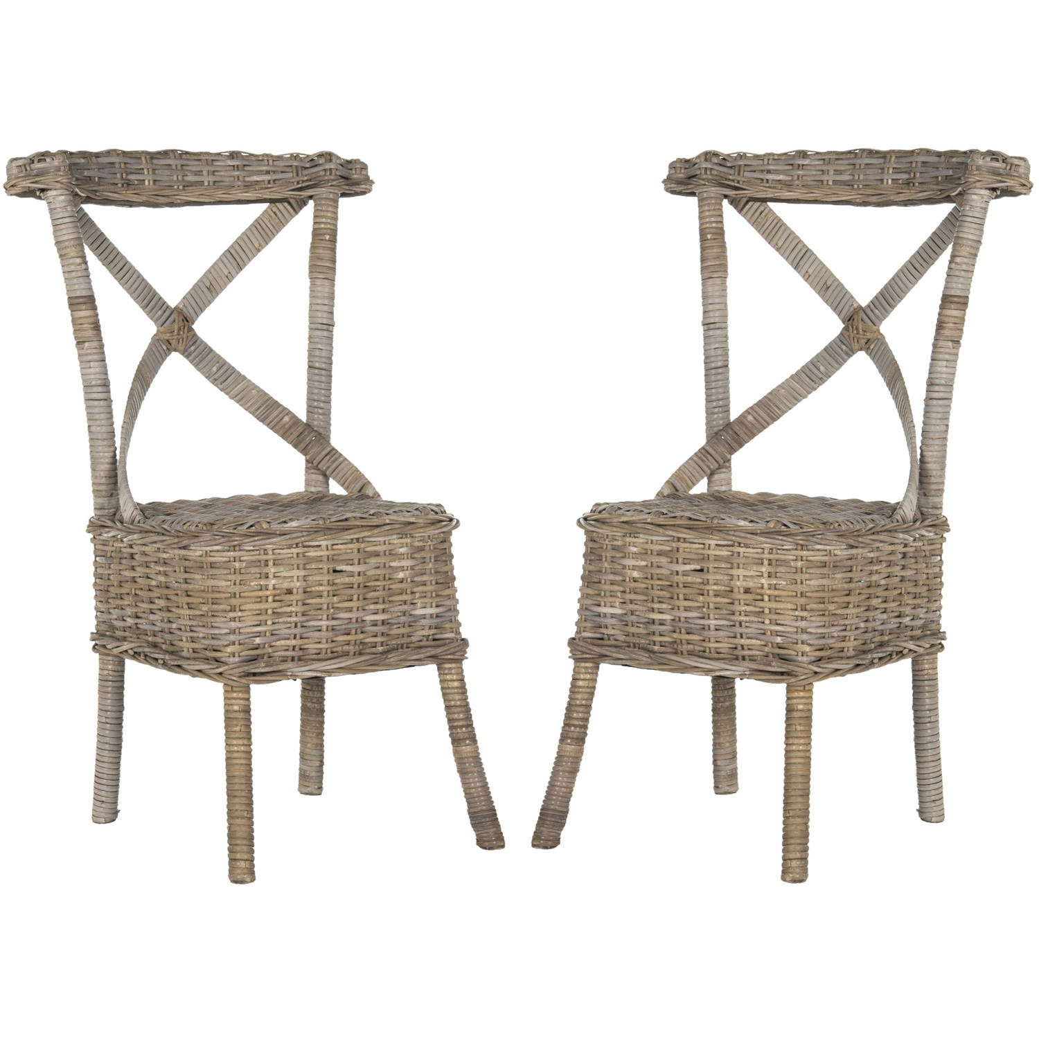 Genial Safavieh Katell Wicker Side Chair, Multiple Colors, Set Of 2