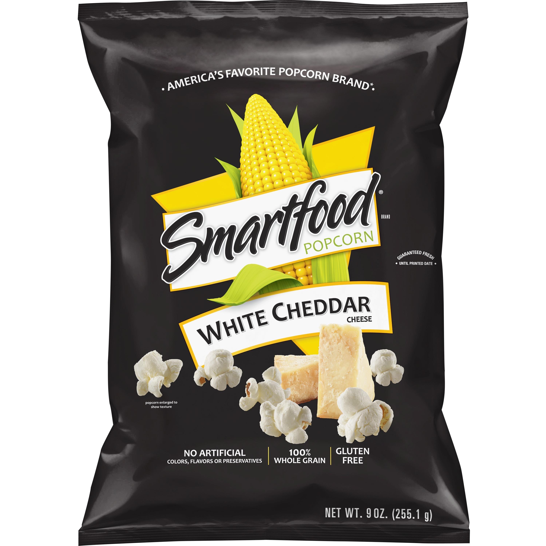 Smartfood Popcorn White Cheddar Cheese, 9.0 OZ