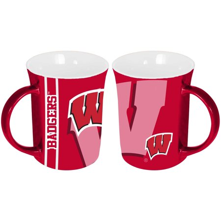 Wisconsin Badgers 15oz Reflective Mug