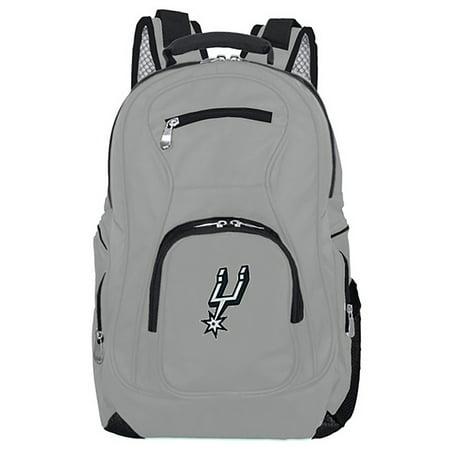NBA San Antonio Spurs Gray Premium Laptop Backpack ()