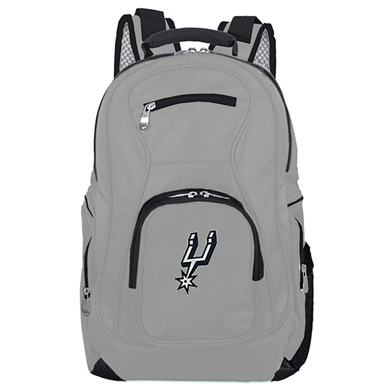 NBA San Antonio Spurs Gray Premium Laptop Backpack