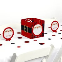 Jolly Santa Claus - Christmas Party Centerpiece & Table Decoration Kit