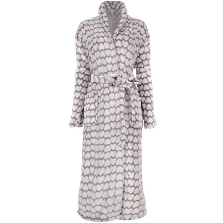 055273a1f0 Women s Soft Plush Bathrobe Kimono Robe Sleepwear Nightgown