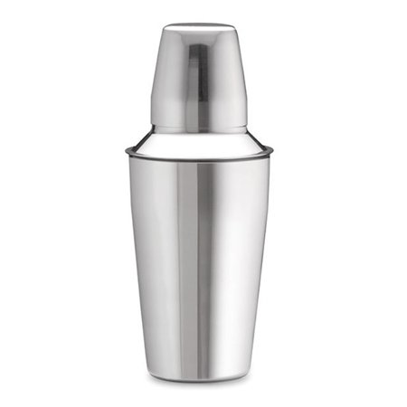 TableCraft 375 3-Piece Stainless Steel Cocktail Shaker, 8-Ounce 12 Ounce Cocktail Shaker