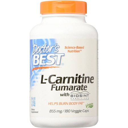 Doctor's Best L-Carnitine Fumarate with Sigma Tau, 180