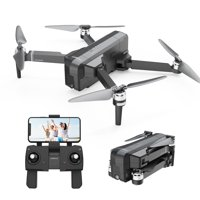 DEERC GPS Drone DE22 with 2K FPV Camera and Video for Adults and Beginners Quadcopter drone with Brushless Motor Auto Return Home Custom Flight Path Follow Me Long Control Range Auto Hover