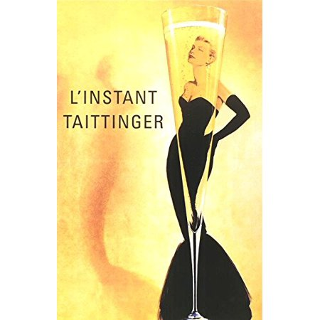 LInstant Taittinger   Grace Kelly Champagne Ad   36x24 Art Print Poster   Sexy Retro Vintage (Linstant Taittinger Champagne)