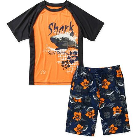 b4c08c3976ead Op - Op - Boys' Rashguard And Swim Shorts, 2- - Walmart.com