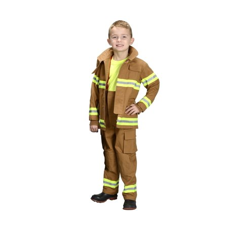Jr. Firefighter Suit NEW YORK In Black or Tan (Kids Firefighter)