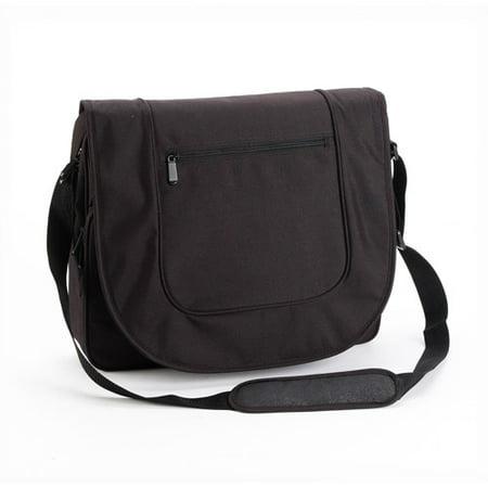 Universal Black Laptop Notebook Bag With Pockets Shoulder Strap Fits up to 15.4
