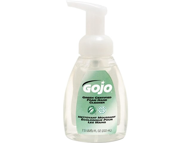 GOJO Green Certified Foam Hand Soap, 7.5 Ounce Bottle (5715-06)