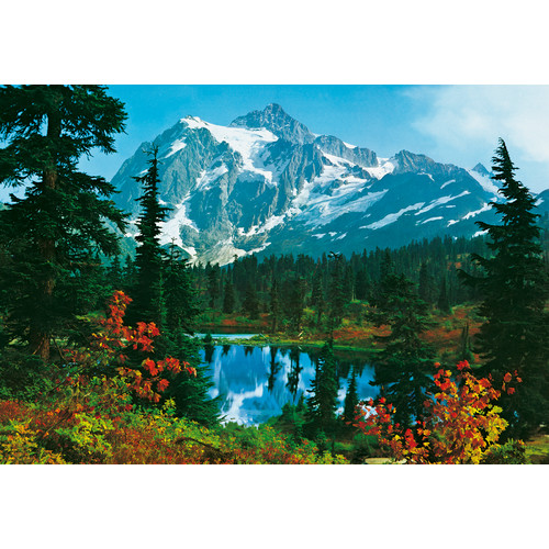 Brewster Home Fashions Ideal Decor Mountain Morning Wall Mural
