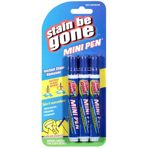 Stain Be Gone: Mini Pen Instant Stain Remover, 0.34 fl oz