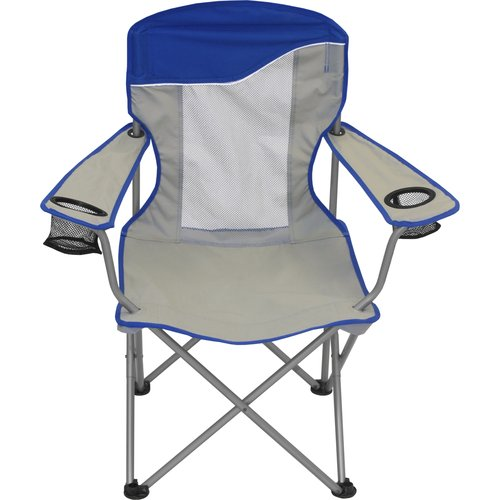 Ozark Trail Comfort Mesh Camping Folding Arm Chair