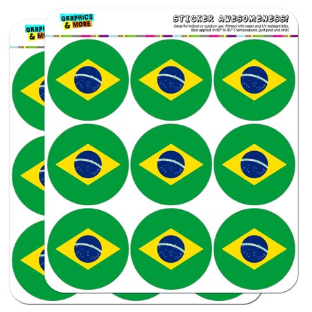 Brazil National Country Flag 2