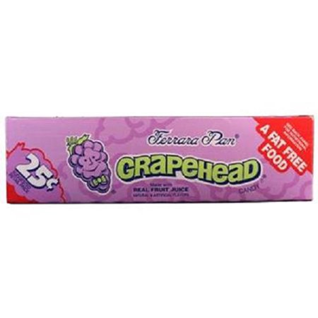 Product Of Ferrara Pan, 25C Grapehead, Count 24 (0.8 oz) - Sugar Candy / Grab Varieties & Flavors