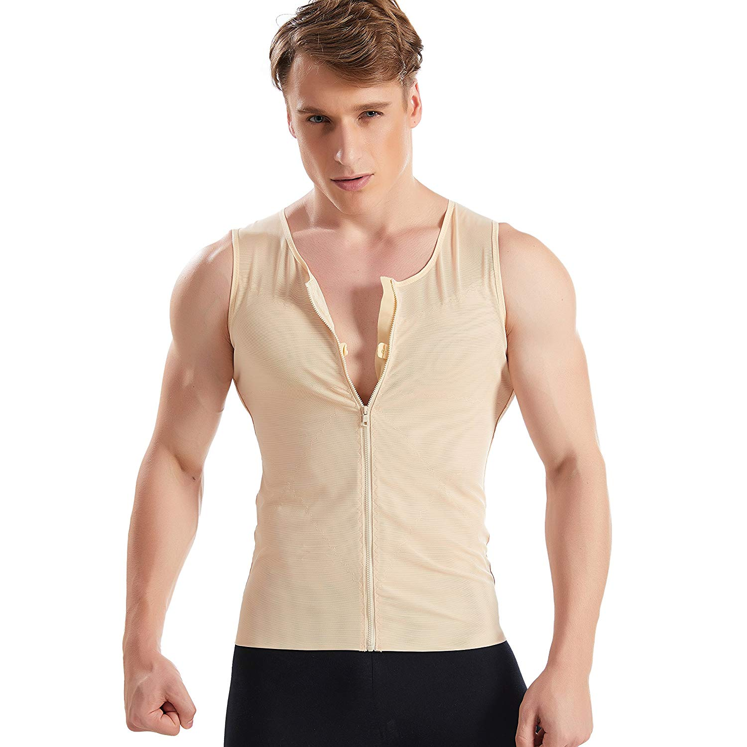 Men's Slimming Body Shaper Weightloss Trainer Corset