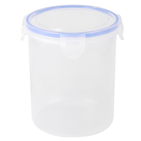 Plastic Cylinder Food Bean Snack Nut Holder Storage Container Box Case (Plastic Cylinder)