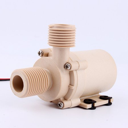 Hot Water Therapy Pump (Solar DC 12V Hot Water Circulation Pump Brushless Motor Water Pump 3M 5M Low Noise)