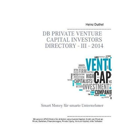 Db Private Venture Capital Investors Directory   Iii   2014