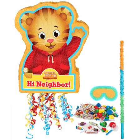 Daniel Tigers Neighborhood Pinata Kit