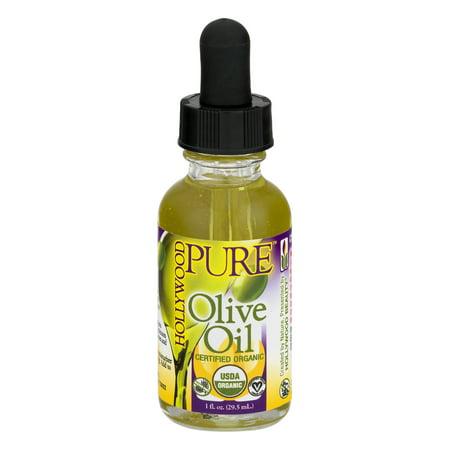Hollywood Pure Organic Olive Oil, 1.0 FL OZ
