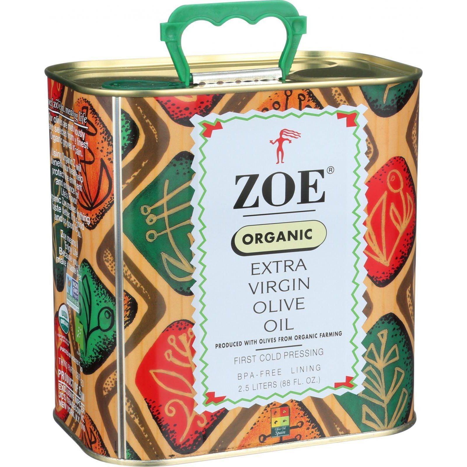 JCS Tradecom Zoe  Olive Oil, 88 oz