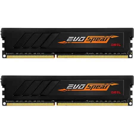 (GeIL EVO SPEAR 16GB (2 x 8GB) 288-Pin DDR4 SDRAM DDR4 3000 (PC4 24000) Desktop Memory Model GSB416GB3000C16ADC)