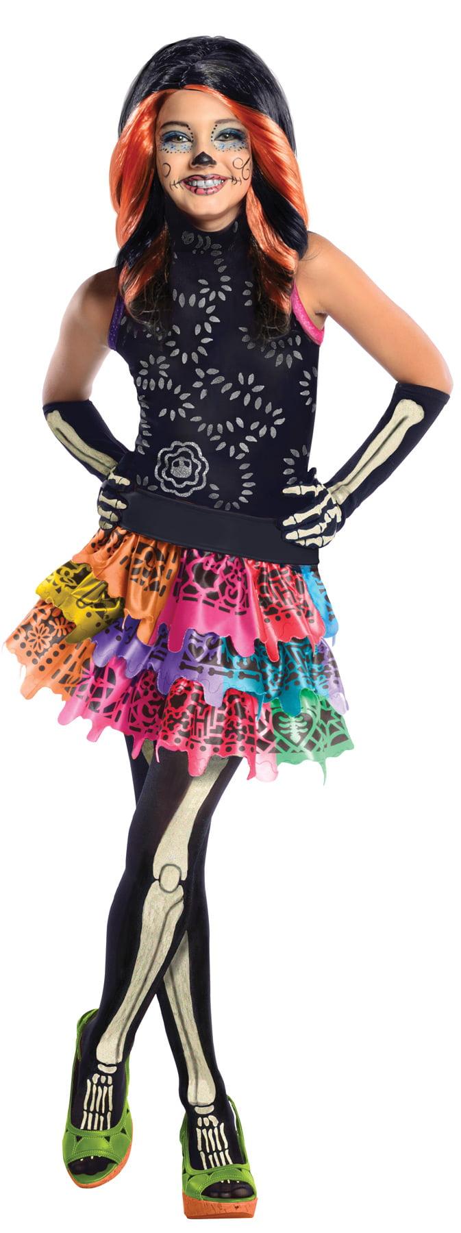 Monster High Skelita Calaveras Child Halloween Costume by Rubies