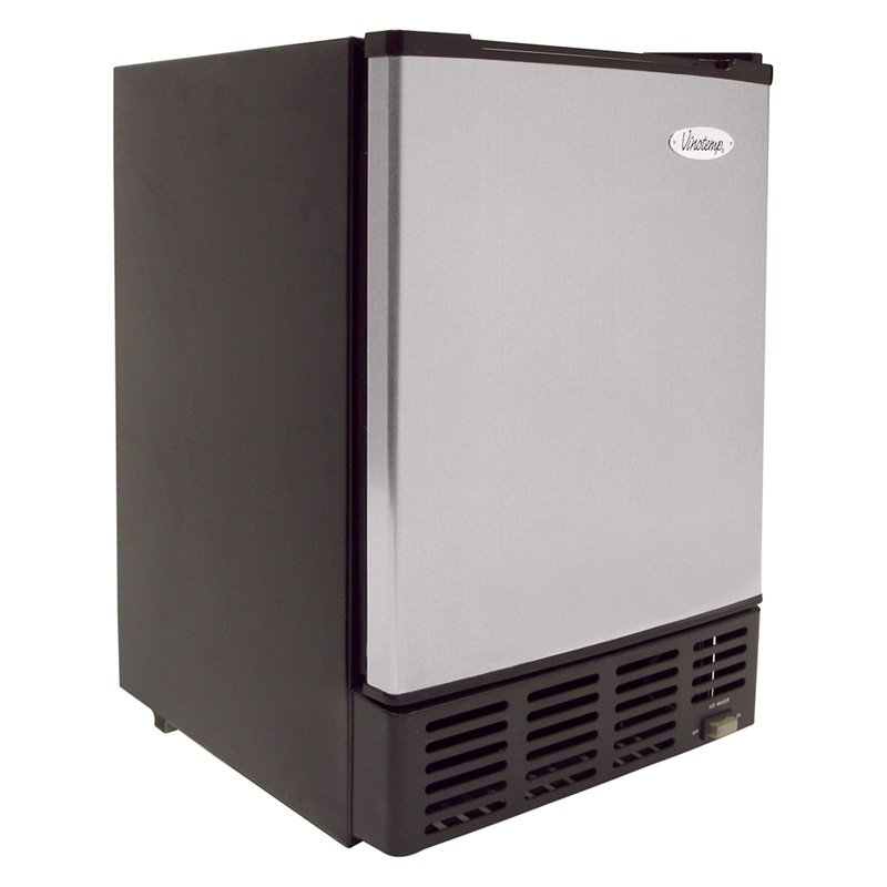 Under-Counter Ice Maker (Stainless/Black)