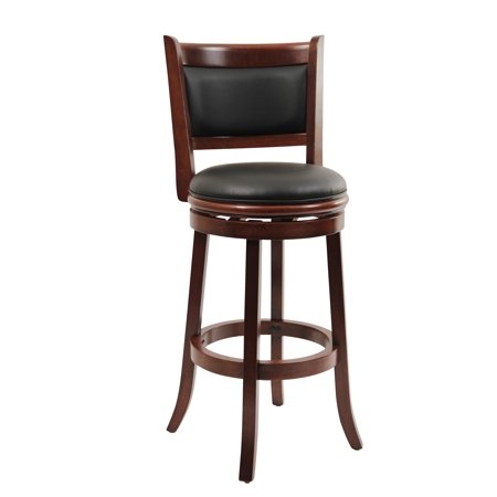 Boraam Augusta 29 Quot Swivel Bar Stool Multiple Finishes Walmart Com