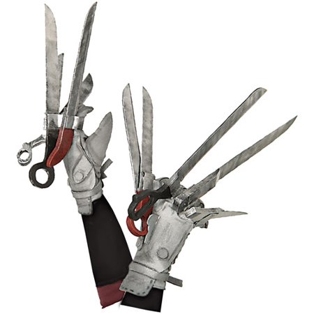 Edward Scissorhands Deluxe Adult Halloween Gloves Accessory (Edward Elric Halloween)