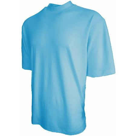 Good Life 100% Cotton Mens Mock Turtleneck Shirt 7-Colors ()