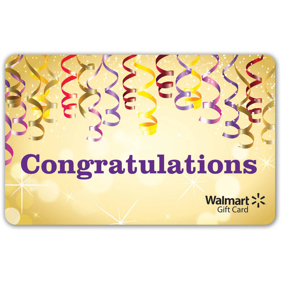 Congratulations Walmart Gift Card 1530 1586 1587 1596 1597 Cabinets For Class 15 Machines