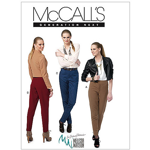 McCall's Pattern Misses' Pants, C5 (10, 12, 14, 16, 18)