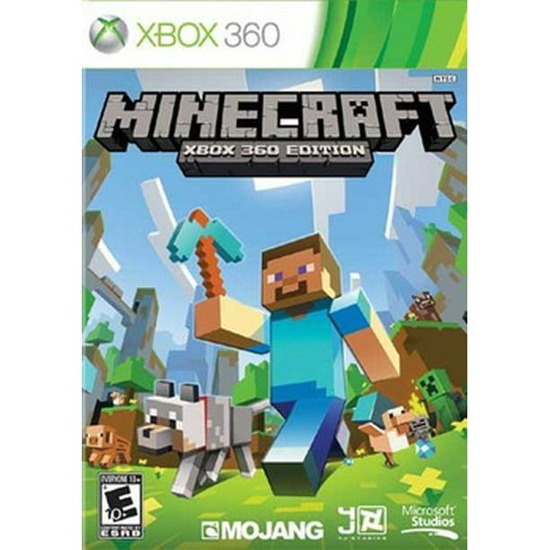 Minecraft Xbox 360 Edition Microsoft Xbox 360 885370606515 Walmart Com Walmart Com