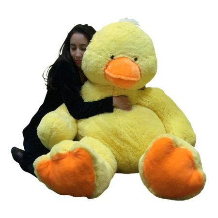 - Big Stuffed Duck 48 Inches Soft 4 Foot Giant Stuffed Yellow Ducky