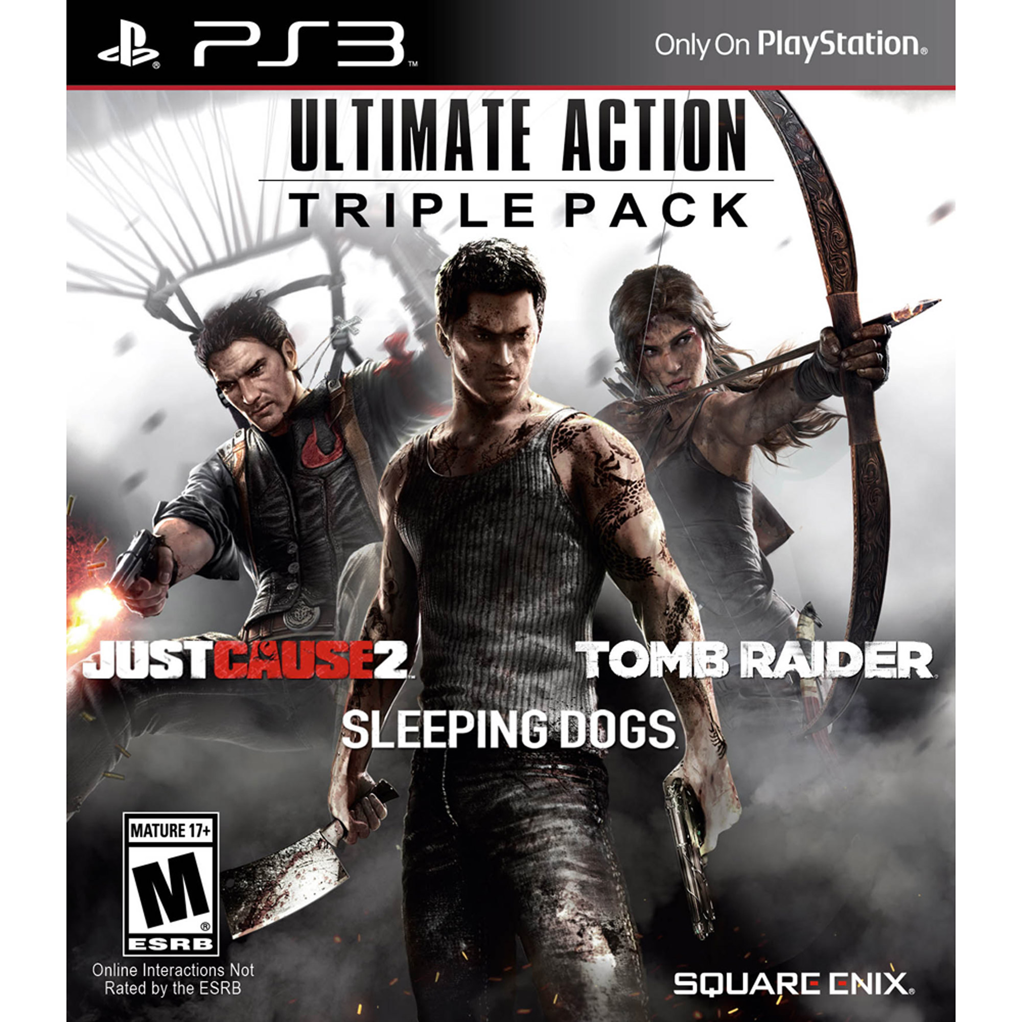 Ultimate Action Triple Pack (PS3)