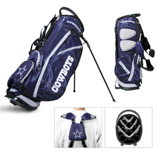 Dallas Cowboys Team Golf Fairway Lightweight 14-Way Top Golf Club Stand Bag by