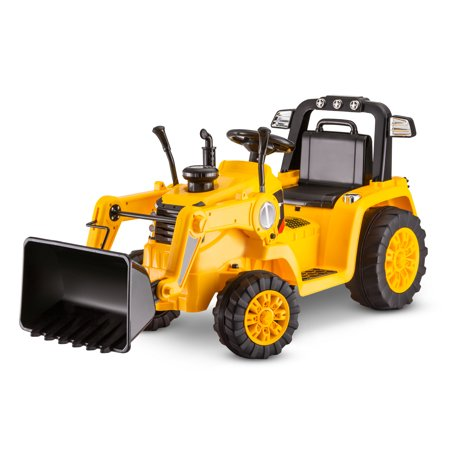 Kid Trax 6V CATERPILLAR Tractor Battery Powered Ride-On, Yellow ()