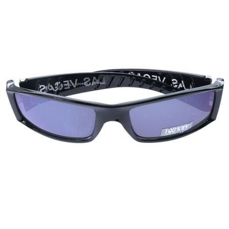 Mi Amore UV protection Las Vegas logo Sport-Sunglasses Black & (Designer Sunglasses Las Vegas)