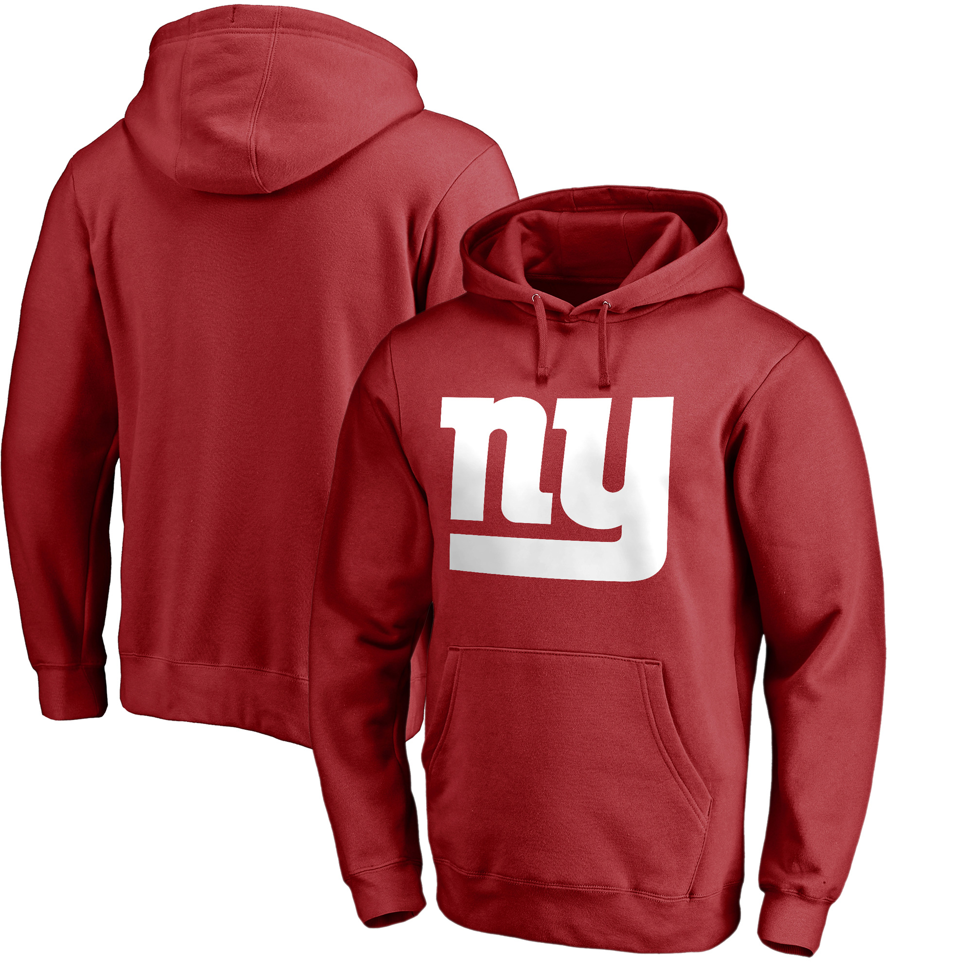 New York Giants NFL Pro Line by Fanatics Branded Primary Logo Pullover Hoodie - Red