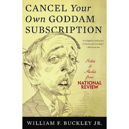 Cancel Your Own Goddam Subscription - eBook