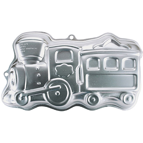 "Wilton Novelty 14""x7.25"" Shaped Cake Pan, Train 2105-2076"