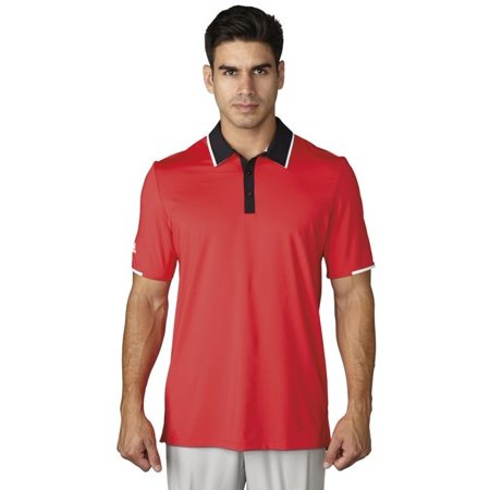Adidas Golf ClimaCool Tipped Performance Polo - Closeout - Below Cost Closeouts