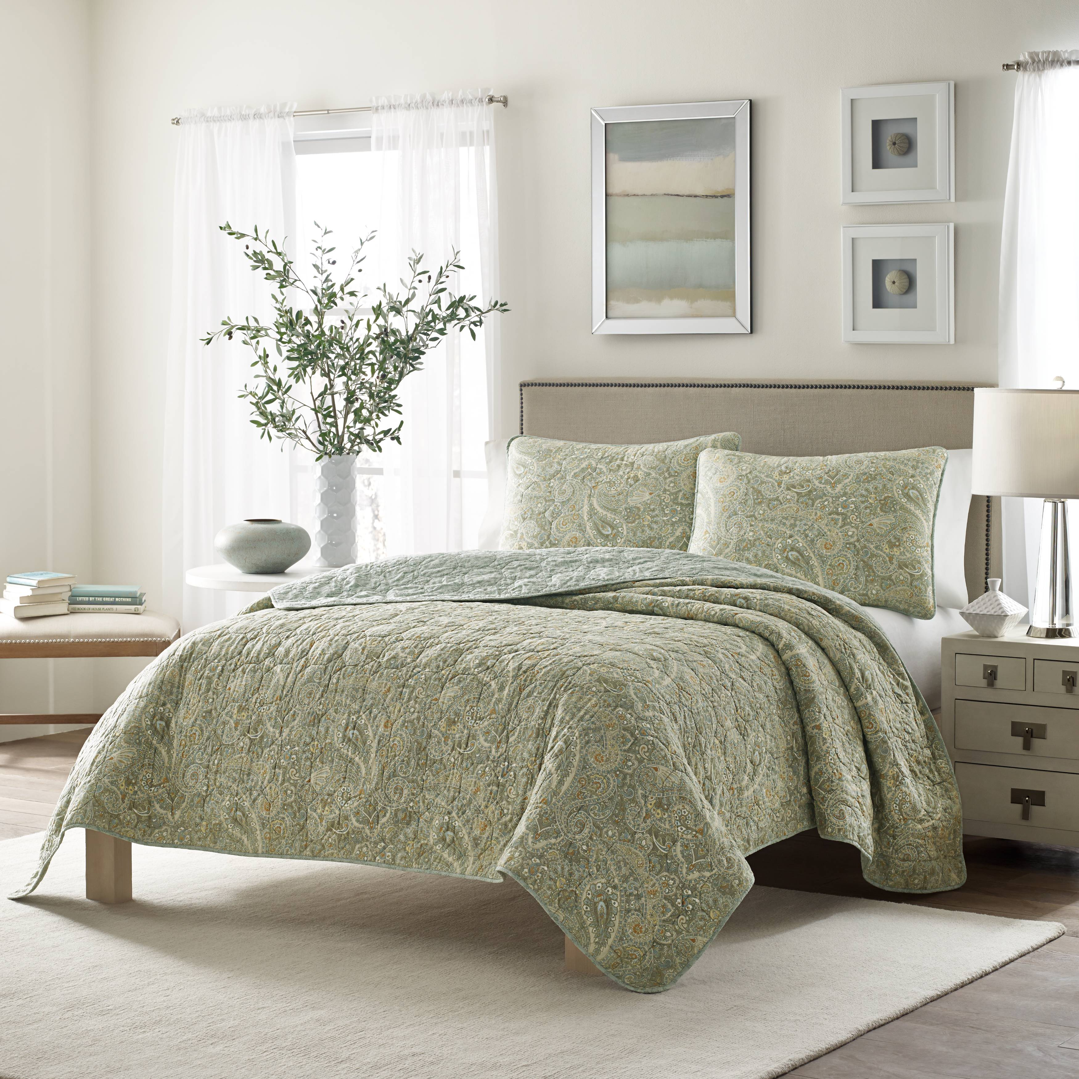 Stone Cottage Emilia Quilt Set, Full/Queen