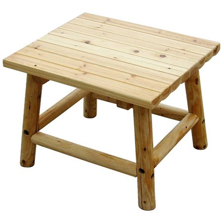 20 Inch High End Table