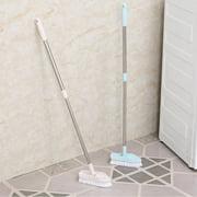 DODOING Floor Scrub Brush Adjustable Long Handle Scrubber Cleaning Tile Bathroom Bathtub Black/Beige
