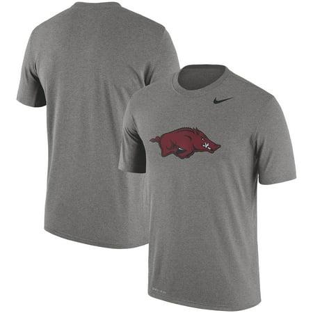 Arkansas Razorbacks Nike Logo Legend Dri-FIT Performance T-Shirt - Dark (Nike Dri Fit Legend Sleeveless Training Shirt)
